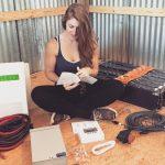 OFF GRID solar power starter kit